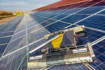 Photo Panneau solaire photovoltaïque n°138 à Lyon par Lionel