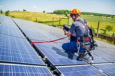 Photo Panneau solaire photovoltaïque n°140 zone Rhône par Lionel