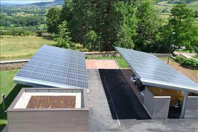 Exemple Panneau solaire photovoltaïque n°165 zone Côte-d'Or par Pierrick