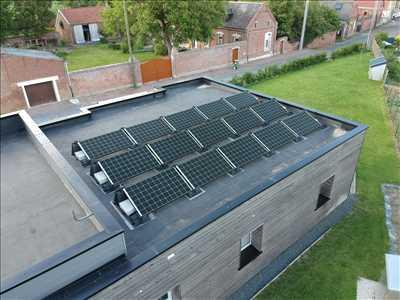 Photo Panneau solaire photovoltaïque n°166 à Dijon par Pierrick