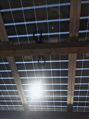 Photo Panneau solaire photovoltaïque n°167 dans le département 21 par Pierrick