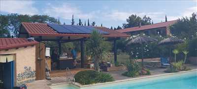 Exemple Panneau solaire photovoltaïque n°169 zone Pyrénées Orientales par EIRL ESPINET - MATESPI
