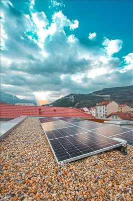 Photo Panneau solaire photovoltaïque n°42 à Grenoble par Gabriel