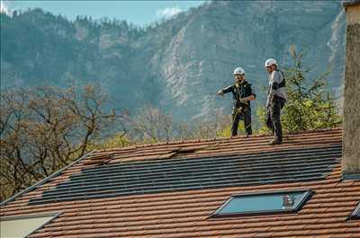 Photo Panneau solaire photovoltaïque n°44 zone Isère par Gabriel